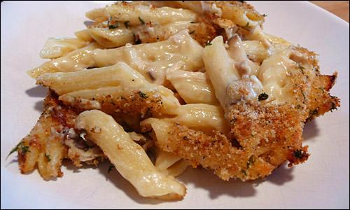 Penne & cheese (mac & cheese)