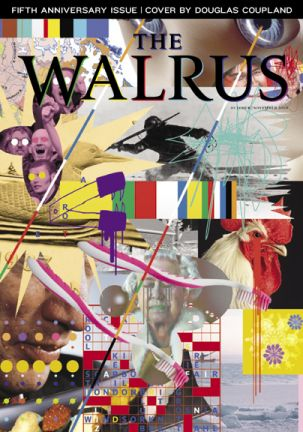 Douglas Coupland's cover for The Walrus