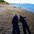 22: On the Beach in Parrsboro